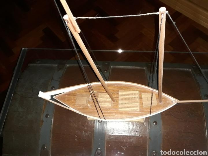 Maquetas: Barco Madera Artesanal - Pinky pesquero de Gloucester - Foto 6 - 193381685
