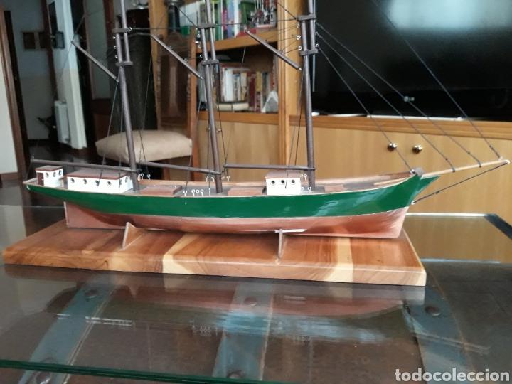 Maquetas: Barco Madera Artesanal - Pailebote Español - Foto 2 - 193382196