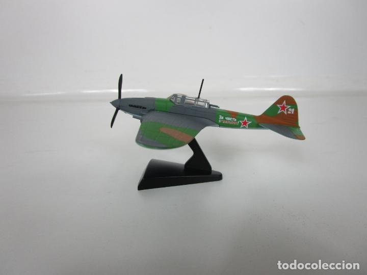 Maquetas: Aviones de Combate - del Prado - Avión Shturmovik - Maqueta en Metal - Escala 1/1000 - Caja - Foto 2 - 193621190
