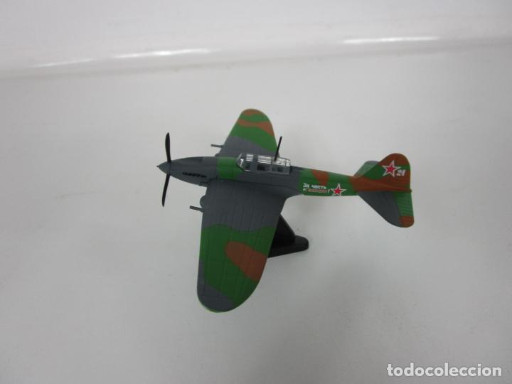 Maquetas: Aviones de Combate - del Prado - Avión Shturmovik - Maqueta en Metal - Escala 1/1000 - Caja - Foto 3 - 193621190