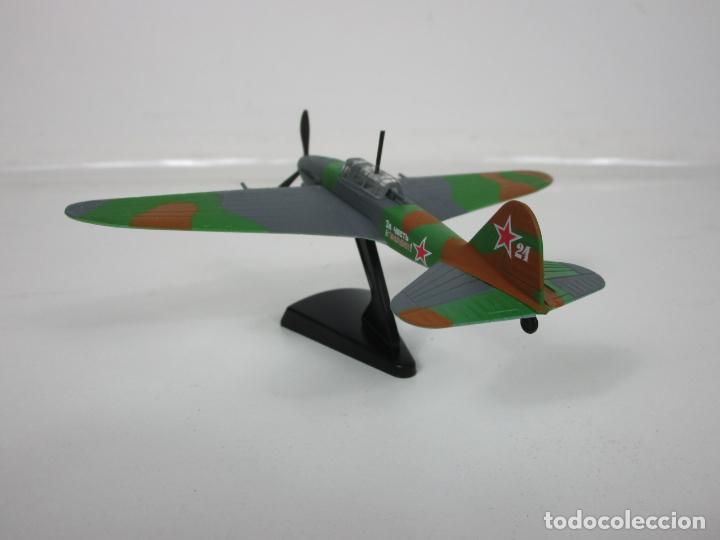 Maquetas: Aviones de Combate - del Prado - Avión Shturmovik - Maqueta en Metal - Escala 1/1000 - Caja - Foto 5 - 193621190