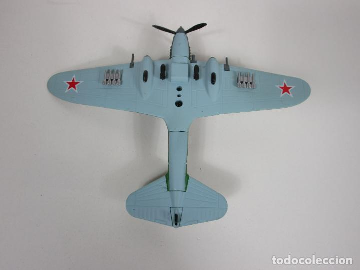 Maquetas: Aviones de Combate - del Prado - Avión Shturmovik - Maqueta en Metal - Escala 1/1000 - Caja - Foto 7 - 193621190