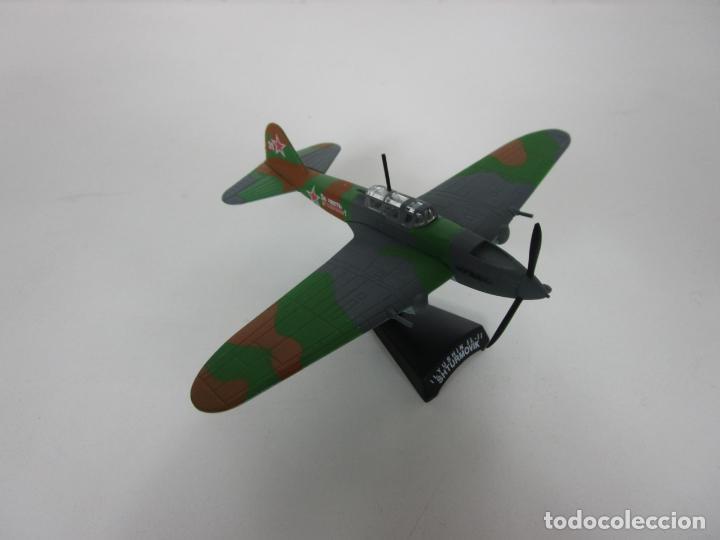 Maquetas: Aviones de Combate - del Prado - Avión Shturmovik - Maqueta en Metal - Escala 1/1000 - Caja - Foto 8 - 193621190