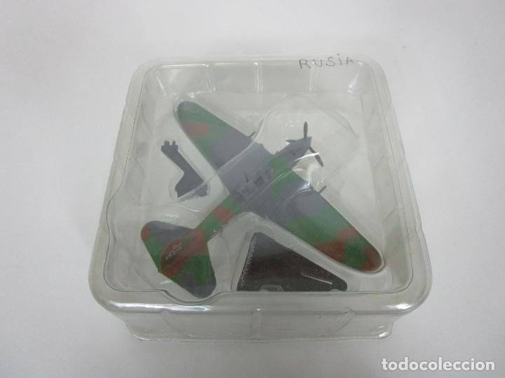 Maquetas: Aviones de Combate - del Prado - Avión Shturmovik - Maqueta en Metal - Escala 1/1000 - Caja - Foto 9 - 193621190