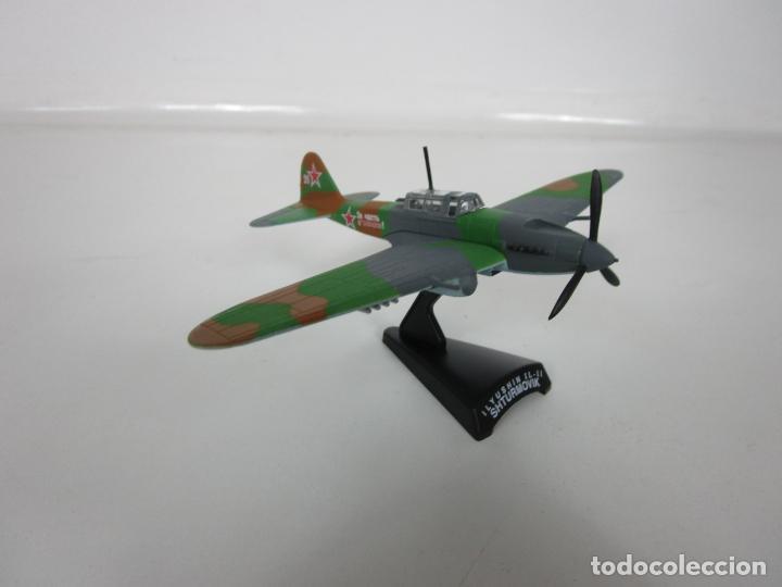 Maquetas: Aviones de Combate - del Prado - Avión Shturmovik - Maqueta en Metal - Escala 1/1000 - Caja - Foto 10 - 193621190