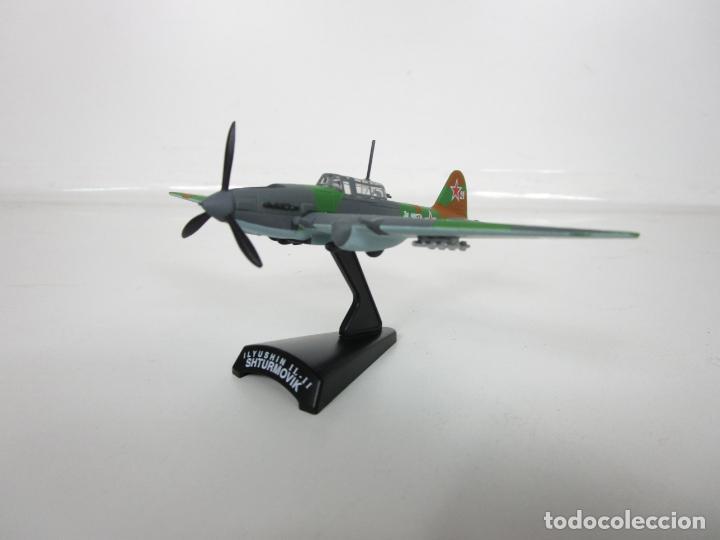 AVIONES DE COMBATE - DEL PRADO - AVIÓN SHTURMOVIK - MAQUETA EN METAL - ESCALA 1/1000 - CAJA (Juguetes - Modelismo y Radio Control - Maquetas - Aviones y Helicópteros)