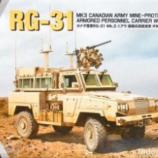 Maquetas: RG-31 MK3 CANADIAN ARMY MINE-PROTECTED ARMORED PERSONNEL CARRIER WITH RWS KINETIC 1/35. Lote 227626925