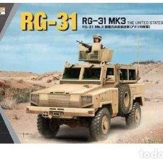 Maquetas: RG-31 MK3 THE UNITED STATES ARMY KINETIC 1/35. Lote 227626845