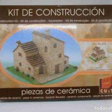 Maquetas: M69 KIT DE CONSTRUCCIÓN CON PIEZAS CERÁMICAS DE CASA. MAQUETA. CUIT. NUEVO. Lote 194087062