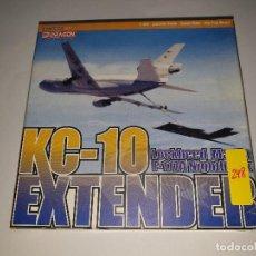Maquetas: DRAGON KC-10 EXTENDER LOCKHEED MARTIN F-117A NIGHTHAWK AVIÓN METAL ESCALA 1:400. Lote 194102080