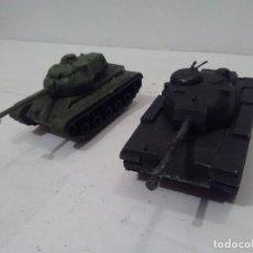 Maquetas: TANQUE M-60 Y M-47, ESCALA APROXIMADA 1/72 - SIN MARCA. Lote 194174545