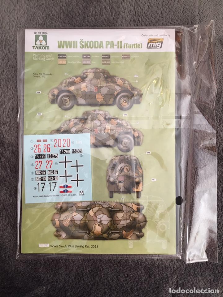 """Maquetas: SKODA PA-II """"Turtle"""" 1:35 TAKOM 2024 maqueta carro vehículo tanque - Foto 5 - 194201023"""