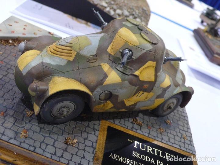 """Maquetas: SKODA PA-II """"Turtle"""" 1:35 TAKOM 2024 maqueta carro vehículo tanque - Foto 14 - 194201023"""