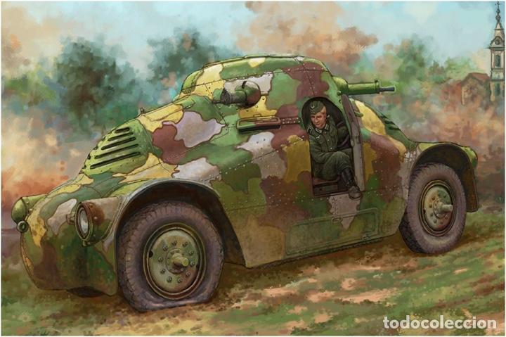 """Maquetas: SKODA PA-II """"Turtle"""" 1:35 TAKOM 2024 maqueta carro vehículo tanque - Foto 16 - 194201023"""