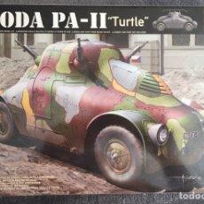 """Maquetas: SKODA PA-II """"TURTLE"""" 1:35 TAKOM 2024 MAQUETA CARRO VEHÍCULO TANQUE. Lote 194201023"""