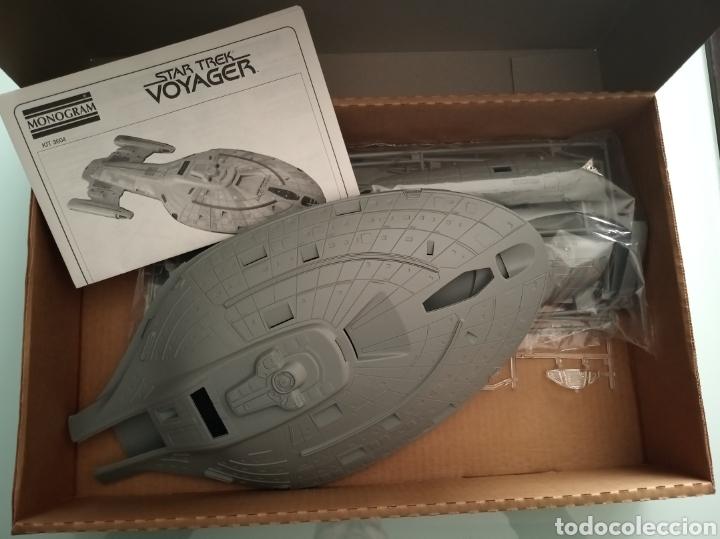 Maquetas: Maqueta Star Trek. USS Voyager - Monogram nueva - Foto 2 - 194218035