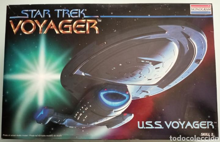 MAQUETA STAR TREK. USS VOYAGER - MONOGRAM NUEVA (Juguetes - Modelismo y Radiocontrol - Maquetas - Otras Maquetas)