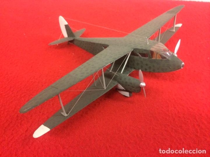 """DE HAVILLAND 89 """"DRAGON RAPIDE"""" (Juguetes - Modelismo y Radio Control - Maquetas - Aviones y Helicópteros)"""