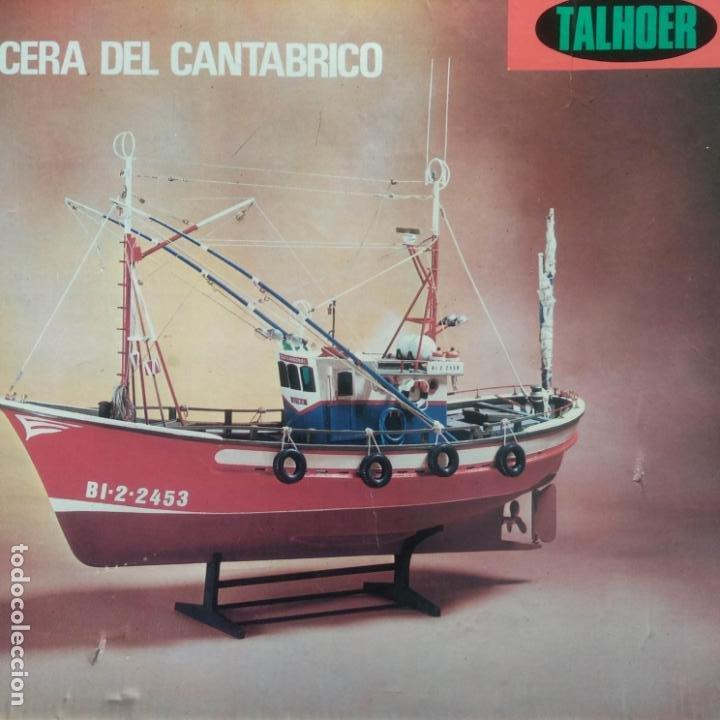 TALHOER. PESQUERO, MERLUCERA DEL CANTÁBRICO. 1:35 ESLORA DE 45CM. MODELISMO NAVAL (Juguetes - Modelismo y Radiocontrol - Maquetas - Barcos)
