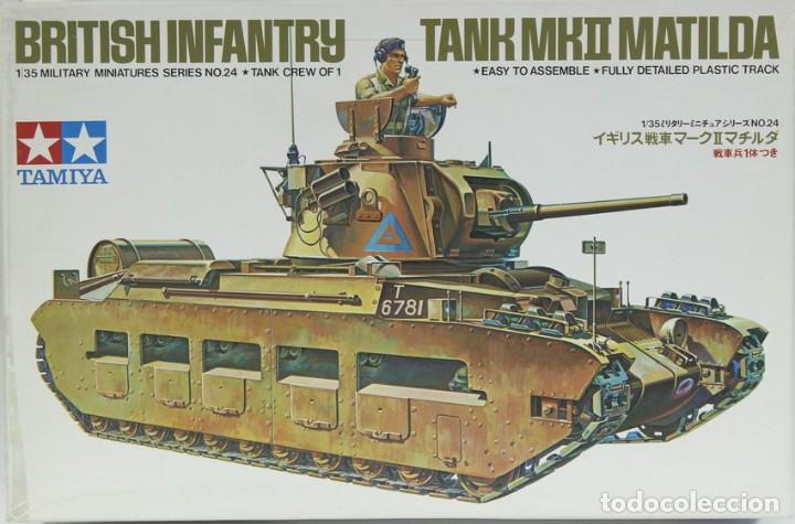 MAQUETA CARRO MATILDA MK. II, REF. 3524, 1/35, TAMIYA (Juguetes - Modelismo y Radiocontrol - Maquetas - Militar)