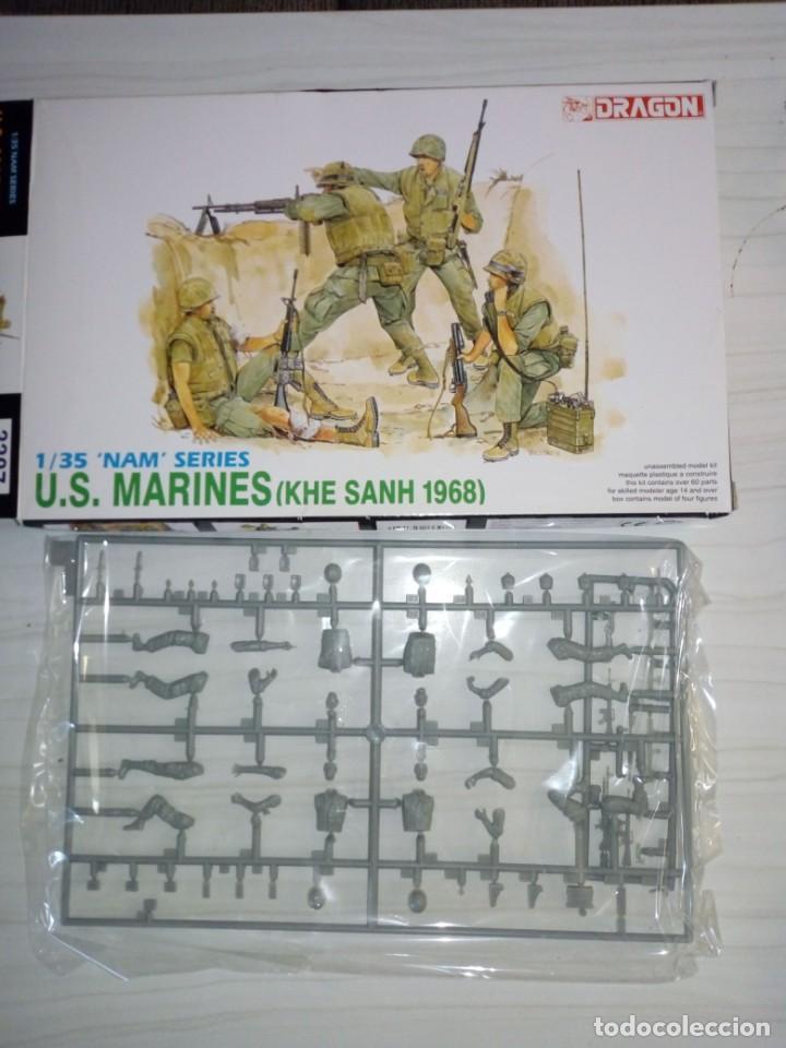KIT NUEVO DRAGON US MARINES KHE SANH 1968 VIETNAM 1/35 (Juguetes - Modelismo y Radiocontrol - Maquetas - Militar)