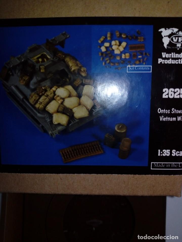 Maquetas: Lote M48A3 Patton de Tamiya nuevo + fotograbado + utensilios verlinden vietnam - Foto 3 - 194243682