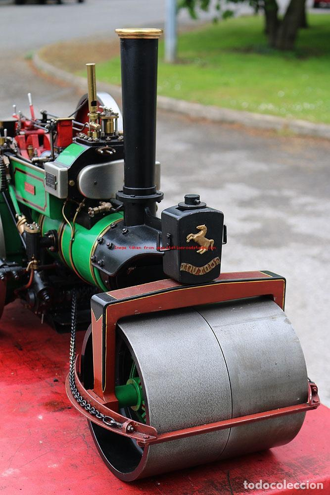"Aveling & Porter Road Roller No. 7632 ""Betsy""   Tracteur ...  Road Roller Aveling"