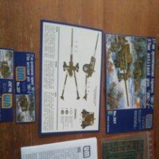 Maquetas: MAQUETA 57MM ANTITANK GUN 3NC-2. Lote 194273398