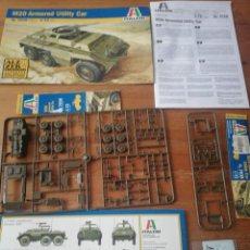 Maquetas: MAQUETA M20 ARMORED UTILITY CAR. Lote 194273952
