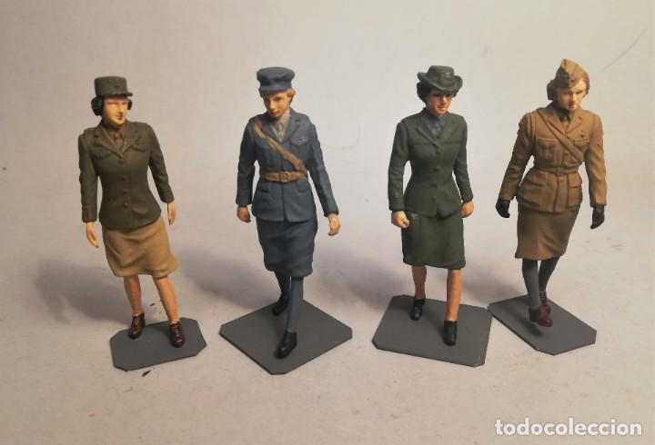 Maquetas: BRONCO MODELS. Escala 1/35. WWII Allied female soldier set. Maquetas montadas y pintadas - Foto 1 - 194282840