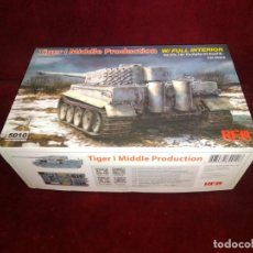 Maquetas: MAQUETA DE TANQUE TIGER I MIDDLE PRODUCTION 5010.. Lote 194282961