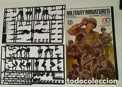 CAJA DE SOLDADOS AMERICANOS 1/35 PARA DIORAMAS (Juguetes - Modelismo y Radiocontrol - Maquetas - Militar)