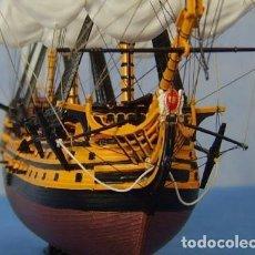 Maquetas: MAQUETA DEL PODEROSO H.M .S. VICTORY, A ESCALA 1:225, 40 CM DE ESLORA. A ESTRENAR.. Lote 194296988