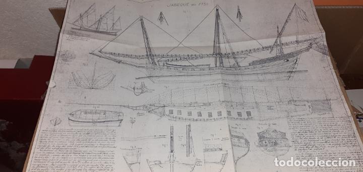 JABEQUE ARGELINO SIGLO XVIII (Juguetes - Modelismo y Radiocontrol - Maquetas - Barcos)