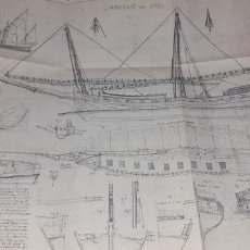 Maquetas: JABEQUE ARGELINO SIGLO XVIII. Lote 194301250