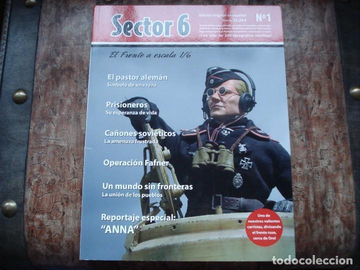 REVISTA SECTOR 6 Nº 1 COMO NUEVA (Juguetes - Modelismo y Radiocontrol - Maquetas - Militar)