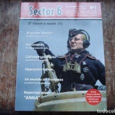 Maquetas: REVISTA SECTOR 6 Nº 1 COMO NUEVA. Lote 194317862