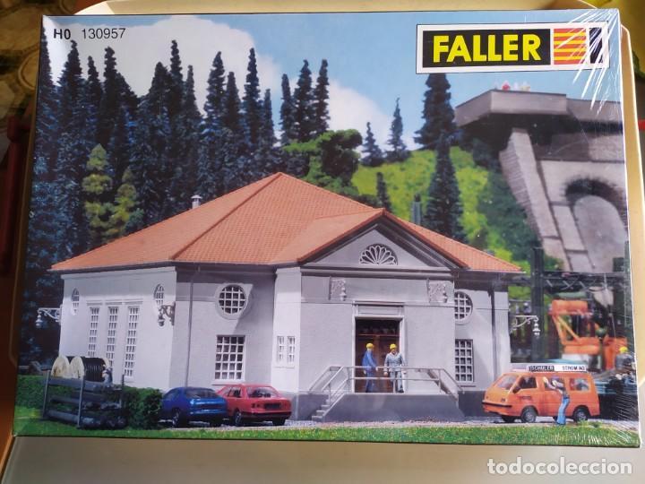 CASA CENTRAL ELÉCTRICA , FALLER REF. 130957 , ESCALA 1/87 H0 (Juguetes - Modelismo y Radiocontrol - Maquetas - Construcciones)