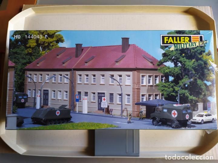 HOSPITAL MILITAR , FALLER REF. 144043 , ESCALA 1/87 H0 (Juguetes - Modelismo y Radiocontrol - Maquetas - Construcciones)