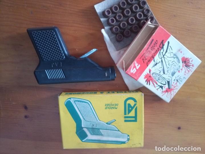 Maquetas: Antigua pistola juguete años 60 - Foto 3 - 194333325