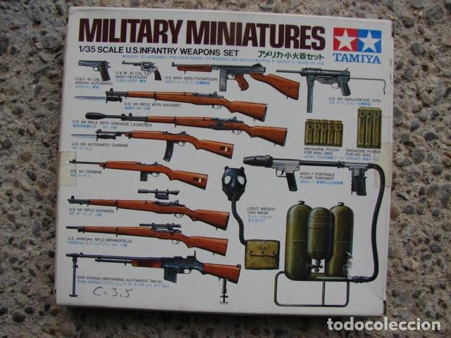 MAQUETA MILITARY MINIATURURES US INFANTRY A ESCALA 1/35 -TAMIYA (Juguetes - Modelismo y Radiocontrol - Maquetas - Militar)
