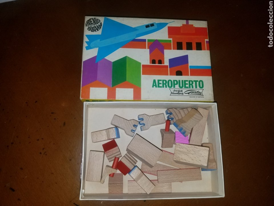 Maquetas: Lote de 5 cajas CONSTRUCCION URBIS DE GOULA, AÑOS 70 - Foto 6 - 194368153
