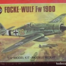 Maquetas: FOCKE WULF FW-190 D-9. AIRFIX ESCALA 1/72. MODELO NUEVO. Lote 194401555