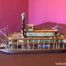 Maquetas: BARCO MISSISSIPI. Lote 194492470