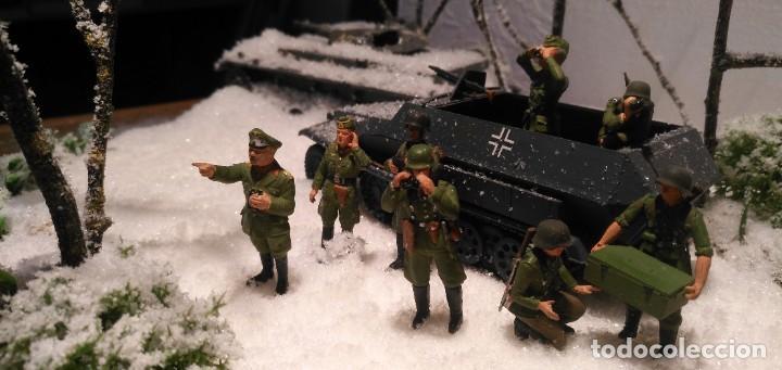 Maquetas: Diorama tropas alemanas en invierno 1/35 montado y pintado con detalles - Foto 4 - 194495902