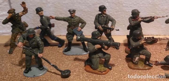 Maquetas: Lote 15 soldados alemanes 1/35 - Foto 2 - 194497352