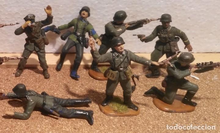 Maquetas: Lote 15 soldados alemanes 1/35 - Foto 3 - 194497352