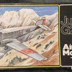 Maquetas: JUNKERS G23/24 (ESPAÑOLIZABLE) 1:72 AIRPLANE MODELKIT MAQUETA AVION. Lote 194498835