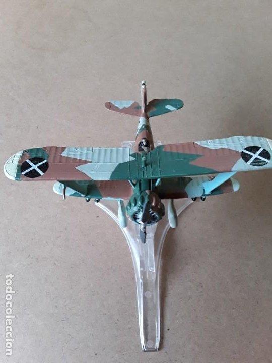 AVIÓN BIPLANO METAL (Juguetes - Modelismo y Radio Control - Maquetas - Aviones y Helicópteros)