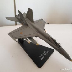 Maquetas: CDC ARMOUR COLLECTION F-18 HORNET EJERCITO DEL AIRE AVIÓN METAL ESCALA 1:100. Lote 194558565